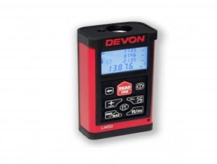 Дальномер Devon LM50 Описание Характеристики Отзывов (0) Электронный лазерный дальномер Devon LM50 —