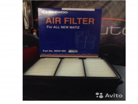 Фильтр воздушный на Daewoo Matiz/Chevrolet Spark