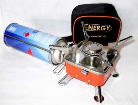 Газовая плитка походная (портативная газовая горелка) GR 200 Корея