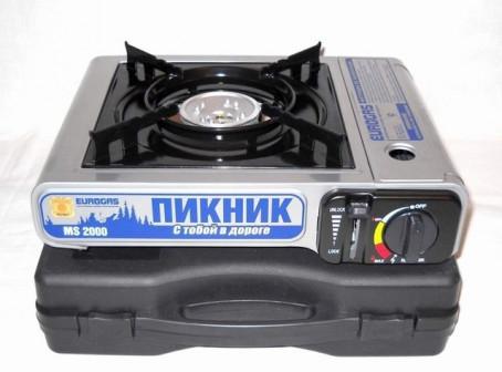 Плита газовая портативная в кейсе ПИКНИК BDZ 168A
