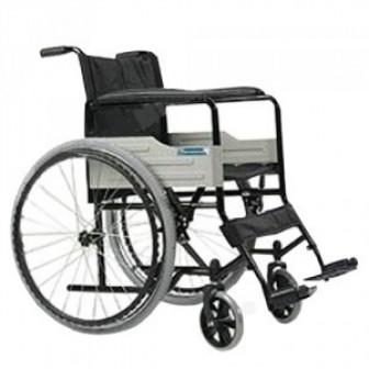 Кресло коляска Belberg 100 складная (45см) (пневмо колеса)