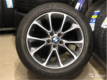 Оригинальные колеса R19 на BMW X5
