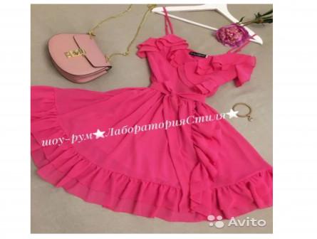 Новое воздушное летнее платье
