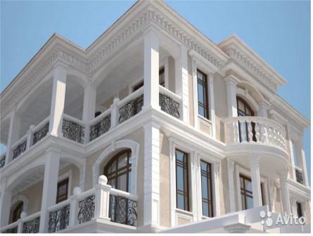 Фасадный декор,лепнина в Крыму