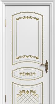 Дверь Адель (эмаль с патиной)