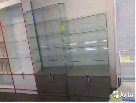 Новые витрины из стекла