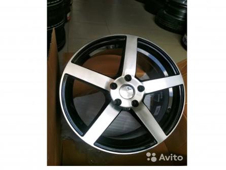 Новые легкосплавные диски R17 5*114 и 5*112