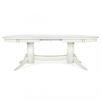 Стол из массива LEVOX Т1 165/205 см (венге/беж)