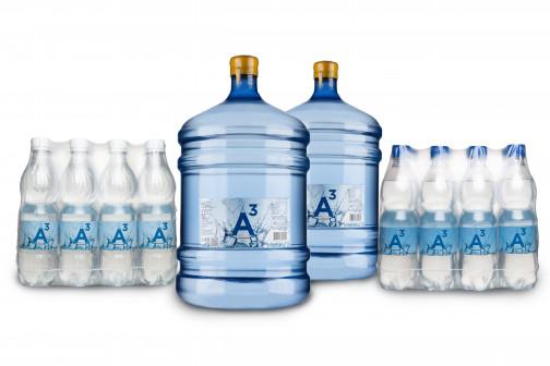 """Артезианская природная вода """"А3"""""""
