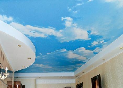 натяжные потолки ваше небо