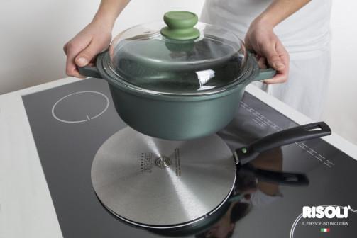 Адаптер Risoli Premium 22 см для индукционной плиты