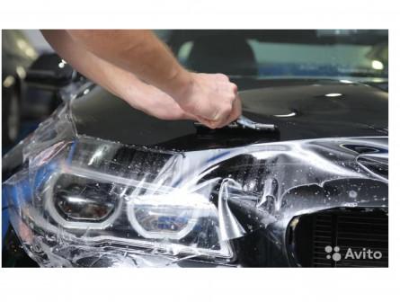 Бронирование автомобиля пленкой