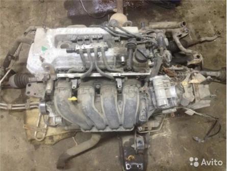 Двигатель JL4G15 1.5 Geely Emgrand EC7