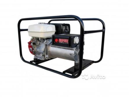 Генератор бензиновый Europower EP 6000 E (Honda)