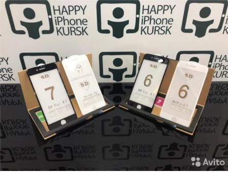 3D стёкла iPhone 6/6s, 6+/6s+, 7/8, 7+/8+, X/XS