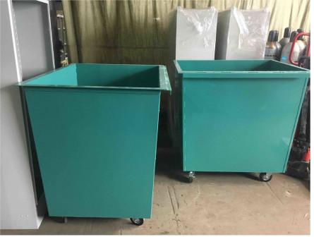 Мусорный контейнер металлический для ТБО 0,75 м3