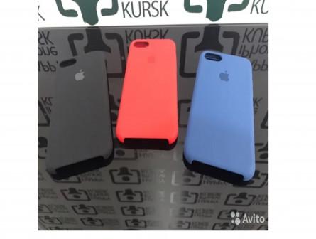 Аксессуары iPhone Оригинальные чехлы Silicone Case