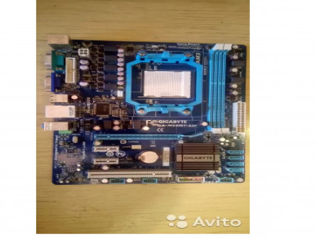 Материнская плата gigabyte GA-M68MT-S2P Socket AM3