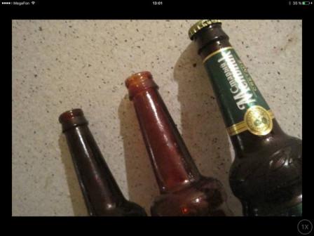 Бутылки из безопасного стекла