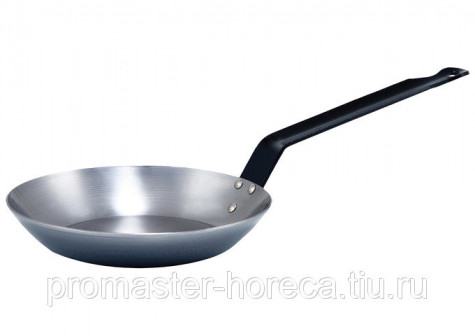 Сковорода французкая полированная карбоновая сталь 24 см