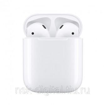 Беспроводные наушники Apple AirPods 2 (без беспроводной зарядки чехла) белые