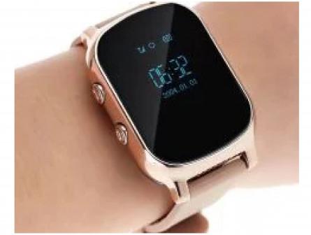 Детские Часы Smart GPS Watch T58 Gold Новые