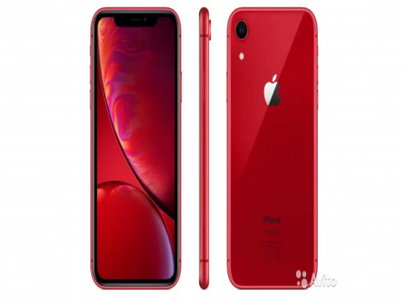 New iPhone XR 64 GB Red (Арт.104)