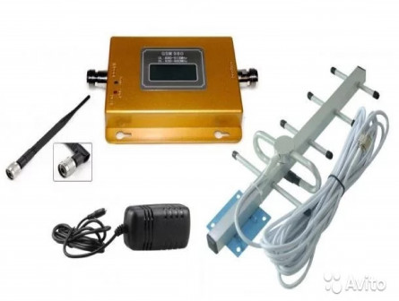 Усилители сотовой связи GSM,3G,DCS,4G(LTE)