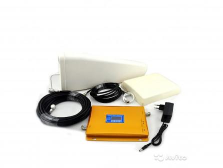 Комплект усиления сигнала GSM + 3G до 300 м2
