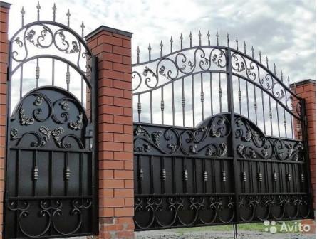 Ворота распашные и откатные