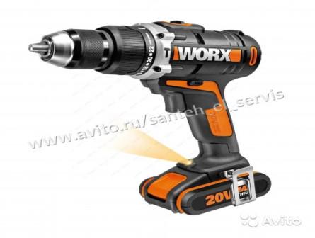 Дрель-шуруповерт worx wu 310 (аккумуляторный)