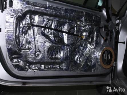 Полная или частичная шумоизоляция автомобиля