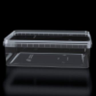 Банка прямоугольная 1000мл прозрачная + крышка 191х129х60 500шткор