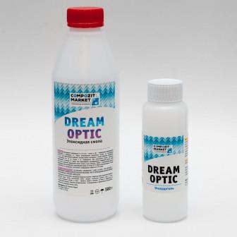 Эпоксидная смола Dream Optic 750 гр (+ Набор для работы с Dream Optic)