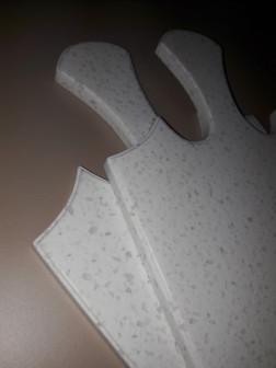 Разделочная доска из искусственного камня