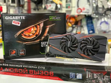 Видеокарта GTX 1070 Gigabyte