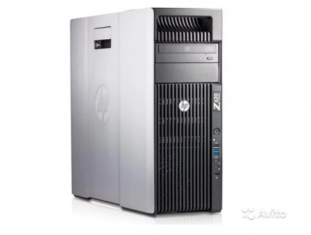 Рабочая станция HP Z620 2x E5-2680v2/128/2Tb/K2000