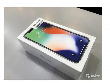 iPhone X 64 Gb Silver, Новый