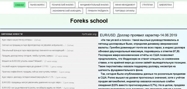 Сайт-https://www.foreks-school.ru