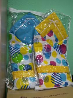 Одеяло на выписку ЛЕТО (шары/желтый или голубой)