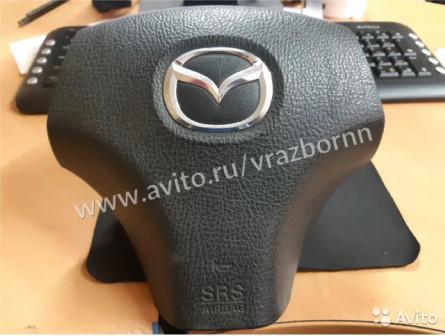 Подушка безопасности в руль Mazda 6 GG Мазда 6 GG