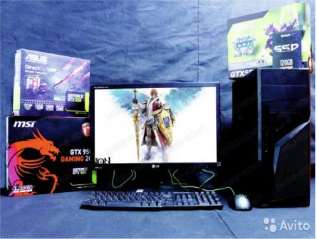 Мега Мощь i3 6GB/ Nvidia GTX 1050 + Гарантия