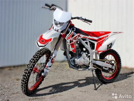 Кроссовый мотоцикл Motoland WRX 250 Lite