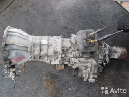 Механическая коробка L200 МКПП дизель mitsubishi