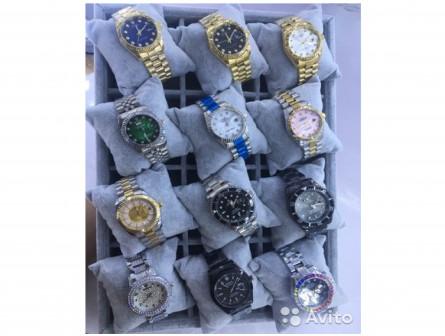 Женские мужские наручные часы Rolex кварц