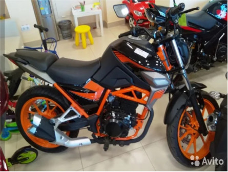 Мотоцикл Nitro