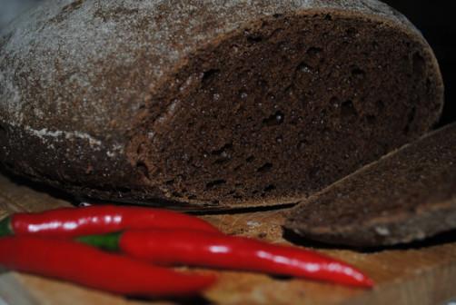 Ржаной кислосладкий хлеб на закваске - 1кг.