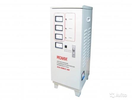 Стабилизатор напряжения ресанта асн-6000/3-эм
