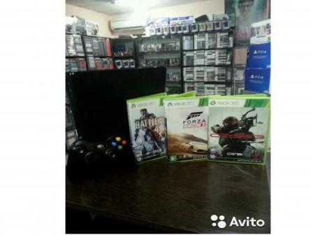 Xbox 360 на 320гб (официальная гарантия)