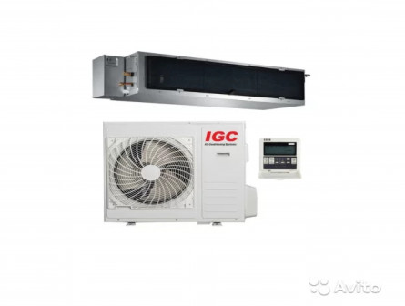 Канальный кондиционер IGC IDM-60HMS/U